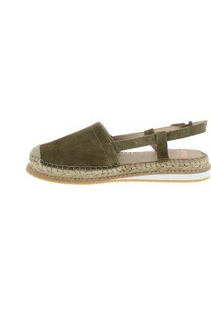 groene dames sandalen
