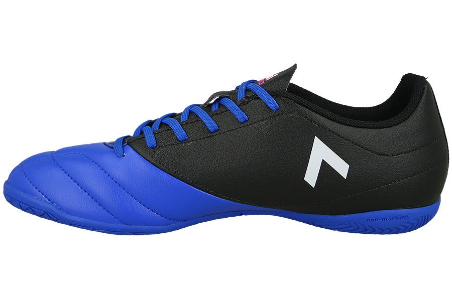 599c41e877b Sportique Zeewolde :: SPORT :: Blauw/Zwarte Heren Zaalvoetbalschoen ...
