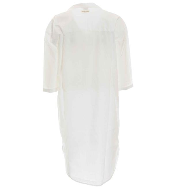 lange witte tuniek blouse