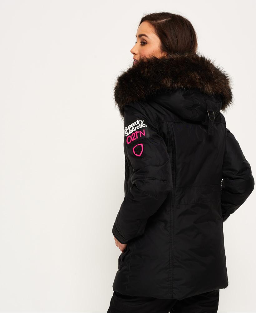 pretty nice cb31f 02c00 Sportique Zeewolde :: SPORT :: Zwarte dame ski/winter parka ...