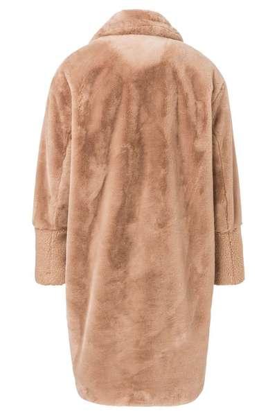 Sportique Zeewolde :: DAMES :: Beige dames trui met capuchon