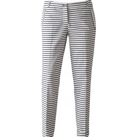 Fonkelnieuw Sportique Zeewolde :: DAMES :: Zwart wit gestreepte dames broek ZY-93