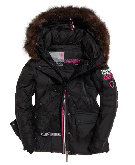 pretty nice e37b2 f5a9c Sportique Zeewolde :: SPORT :: Zwarte dame ski/winter parka ...