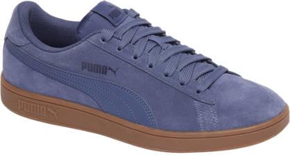 Blauw Bruine heren sneaker Puma Smash V2 - 364989-14
