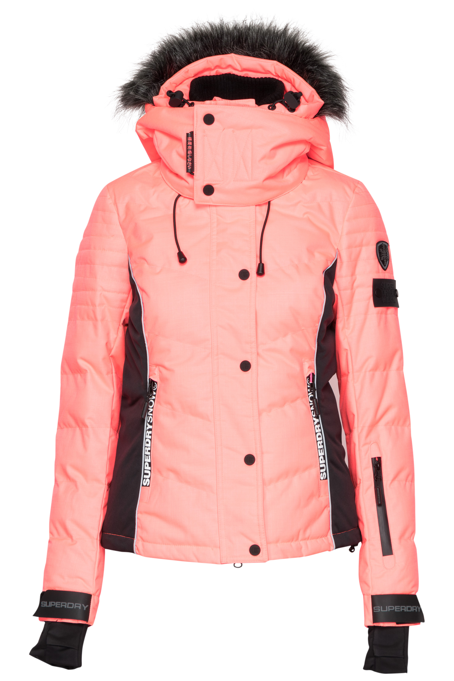 Roze dames ski/winter jack Superdry - G50000WPF1