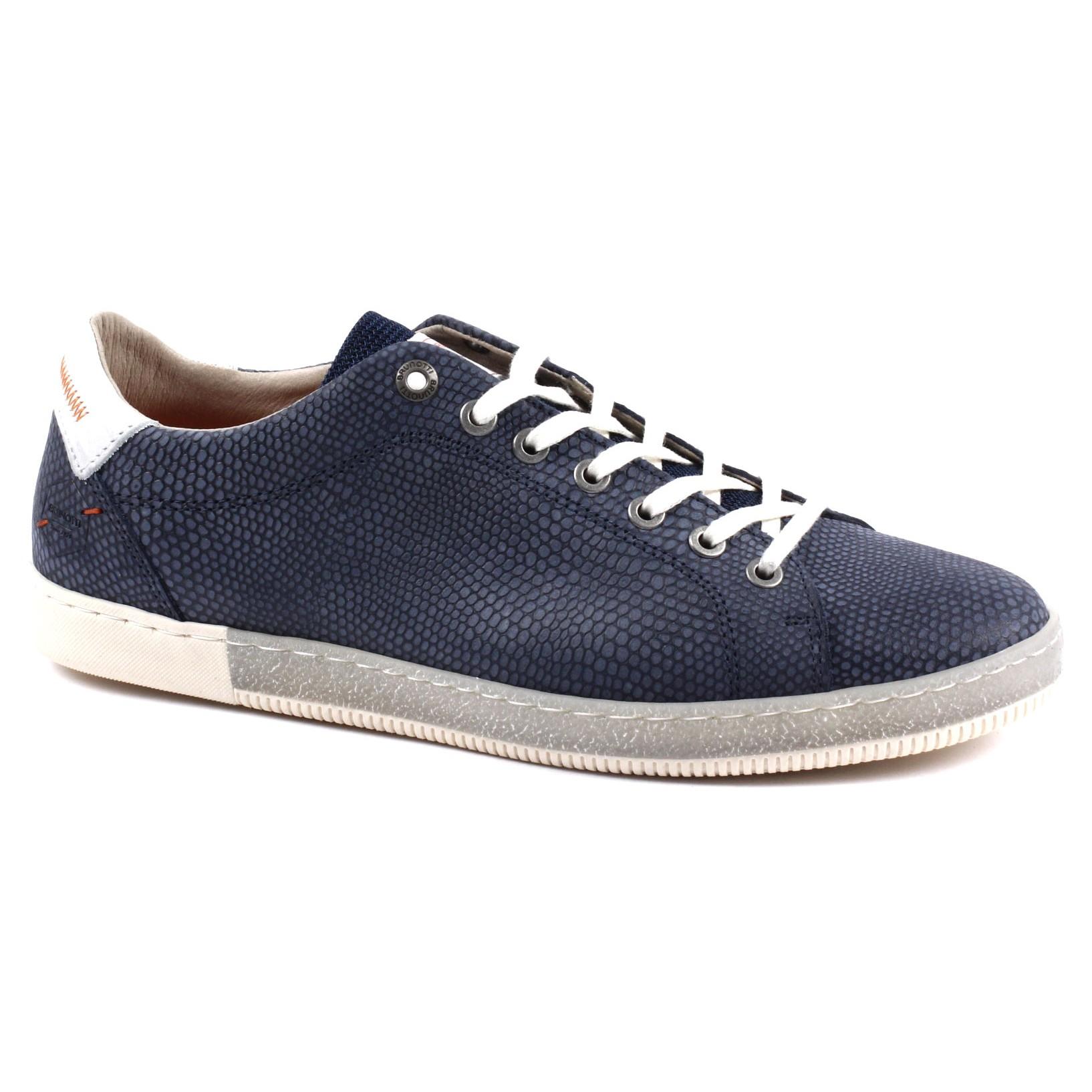 Blauwe heren sneaeker Brunotti Sestoo-7000