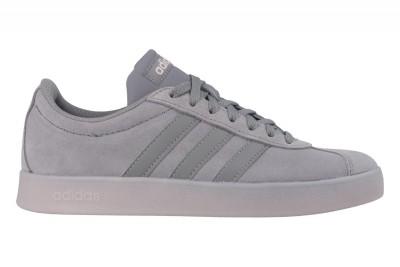 Grijze dames sneaker Adidas VL Court 2.0 W - DB0839