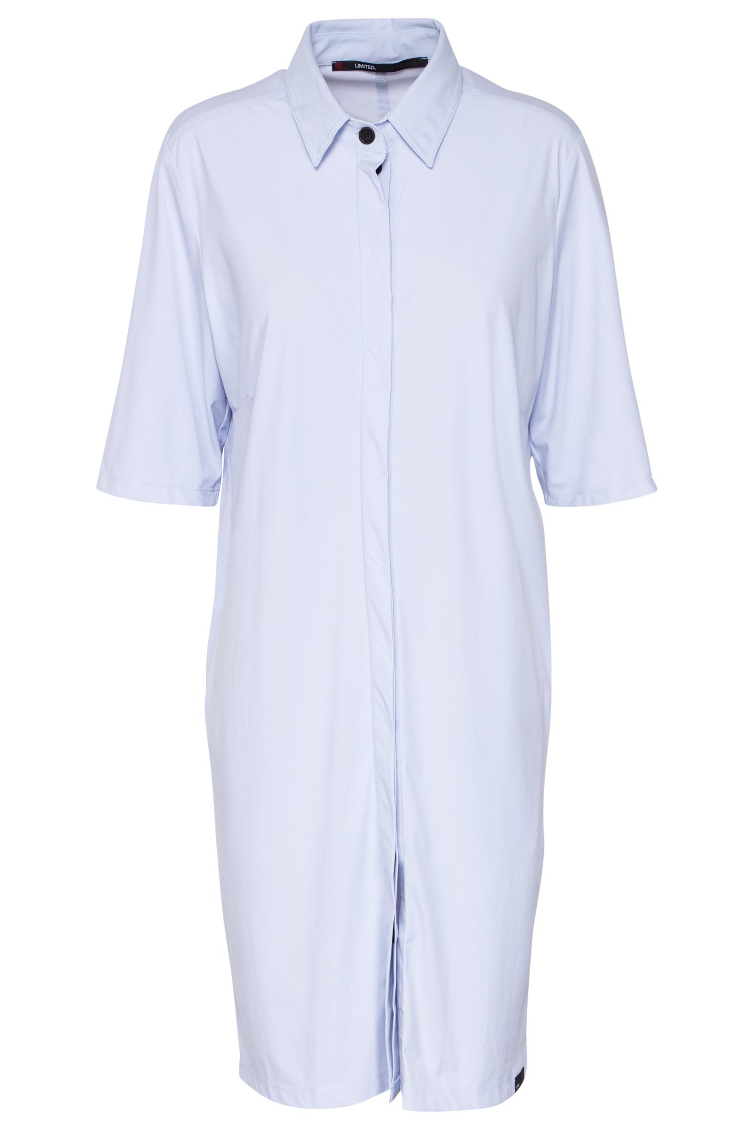 Lichtblauwe dames jurk/blouse Penn & Ink