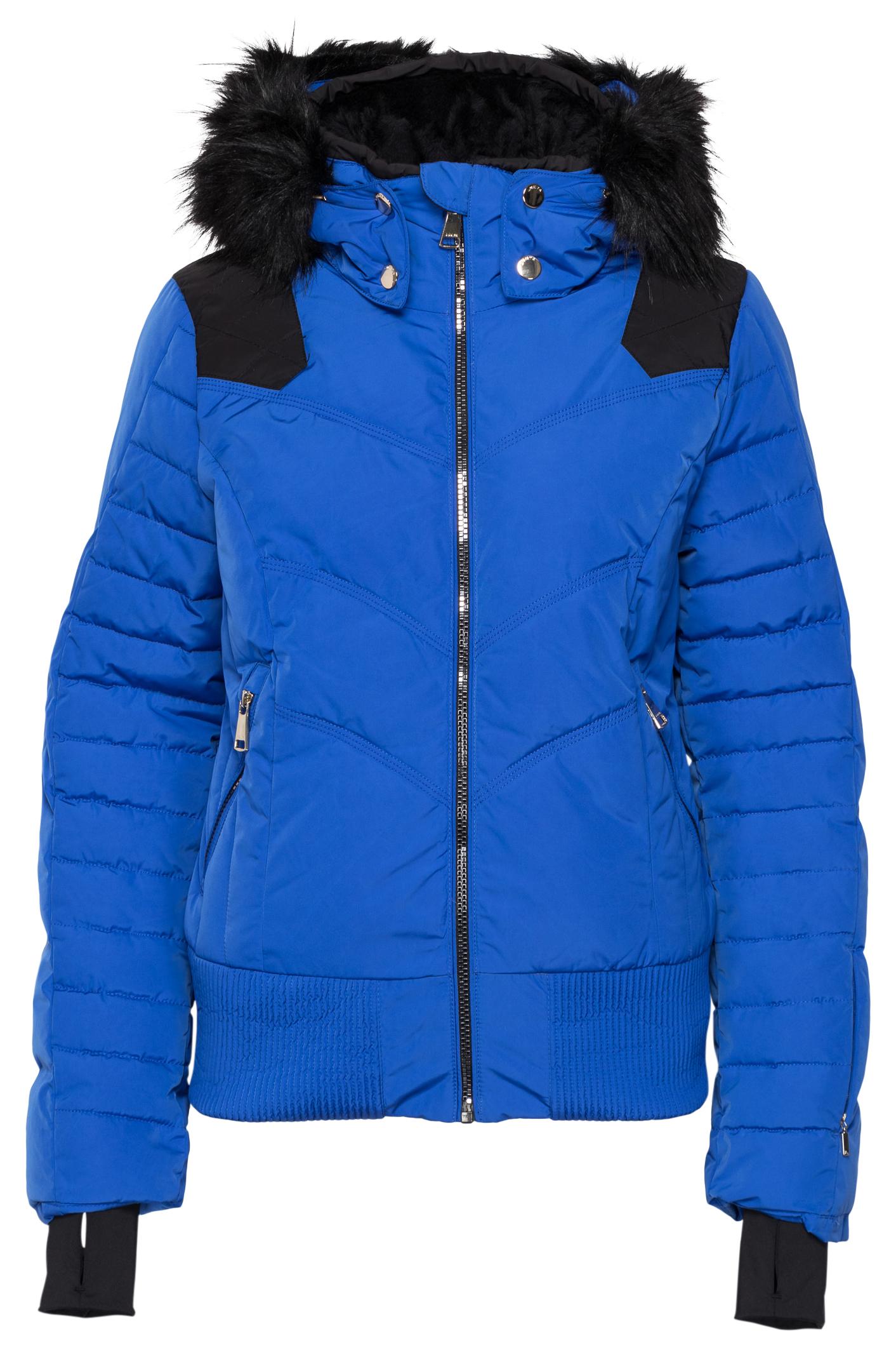 blauwe dames jas Luhta Bigga  - 350