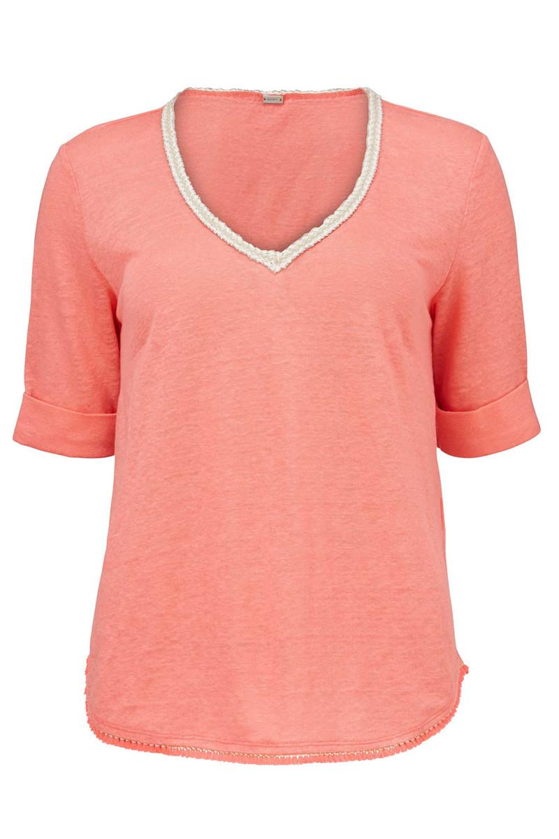 Roze dames top Gustav - 10729