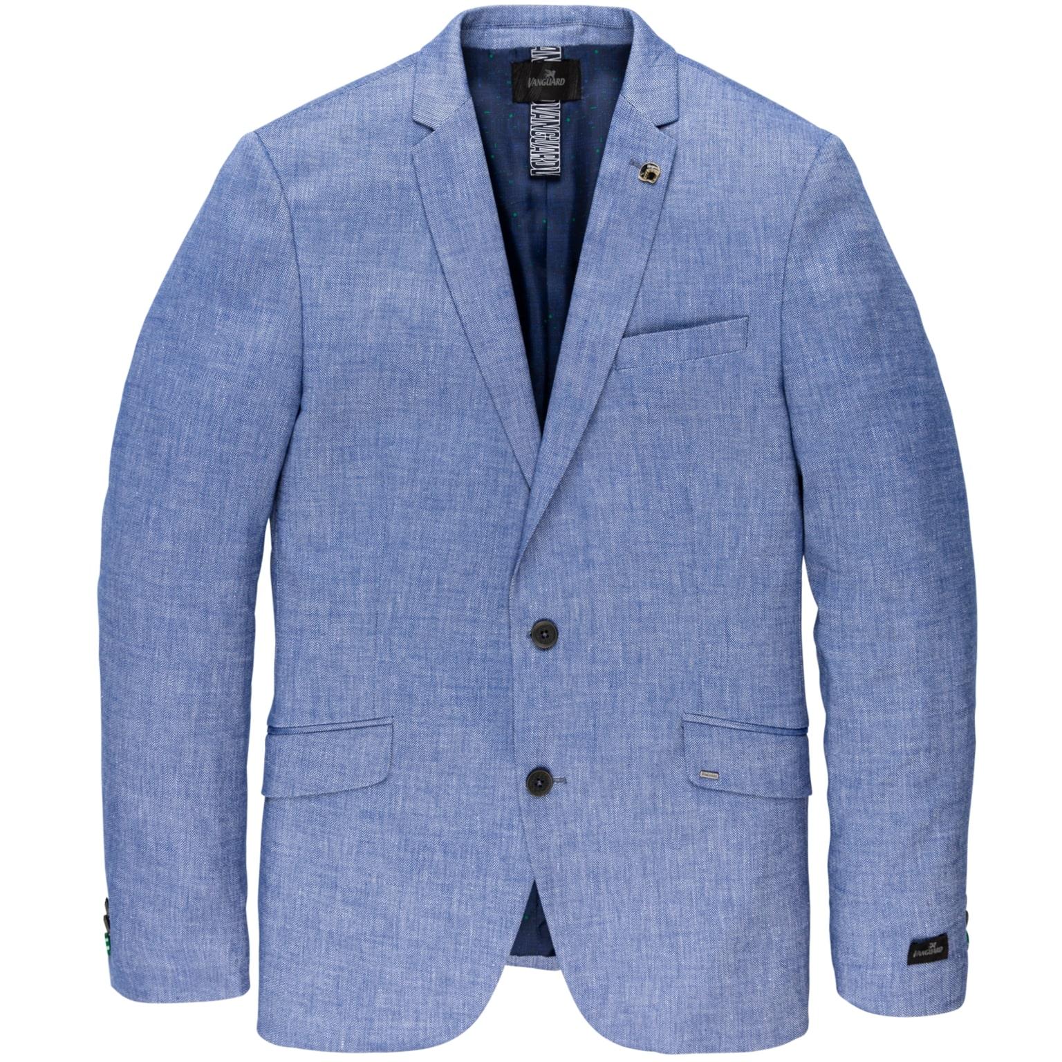 Blauwe heren blazer - VBL202163 5302