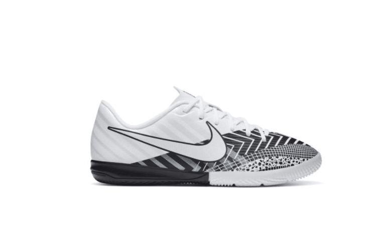 Witte kinder indoorschoenen Nike JR Vapor 13 Academy MDS IC - CJ1175-110