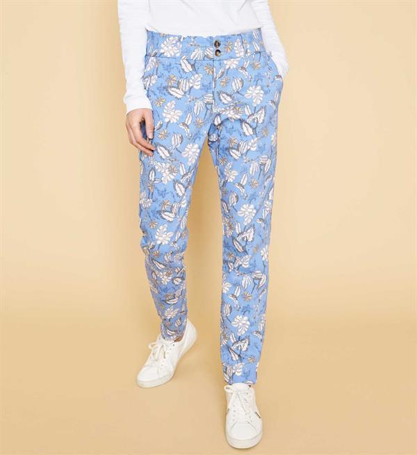 Blauwe dames broek Mos Mosh - 127221 - 437
