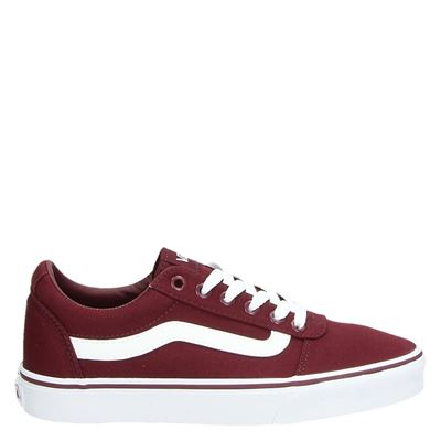 Bordeaux Rode Heren Schoenen Vans Ward - VN0A38DM8j71