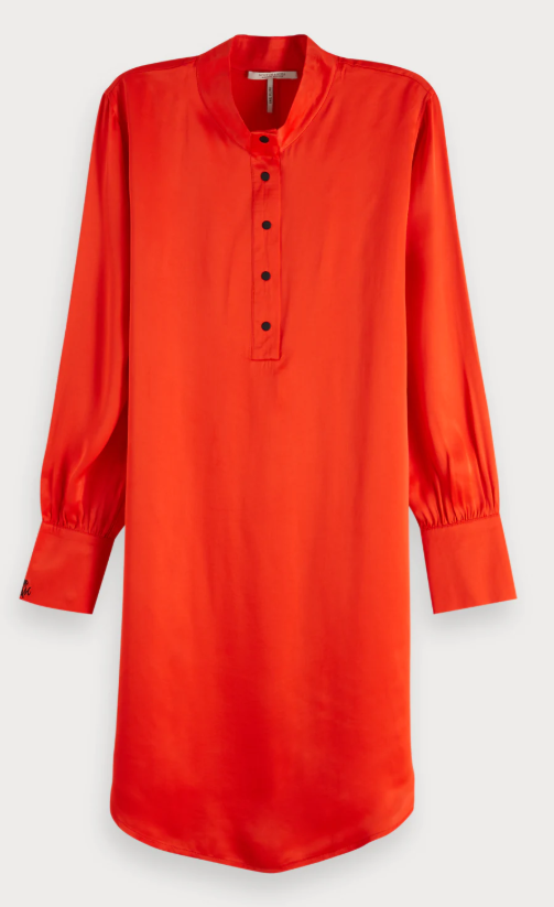 Oranje dames jurk Maison Scotch - 149849 - 41000