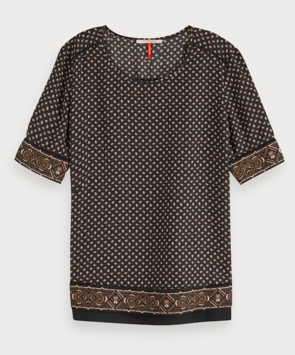 Bruine dames top Maison Scotch - 149800 - 63453