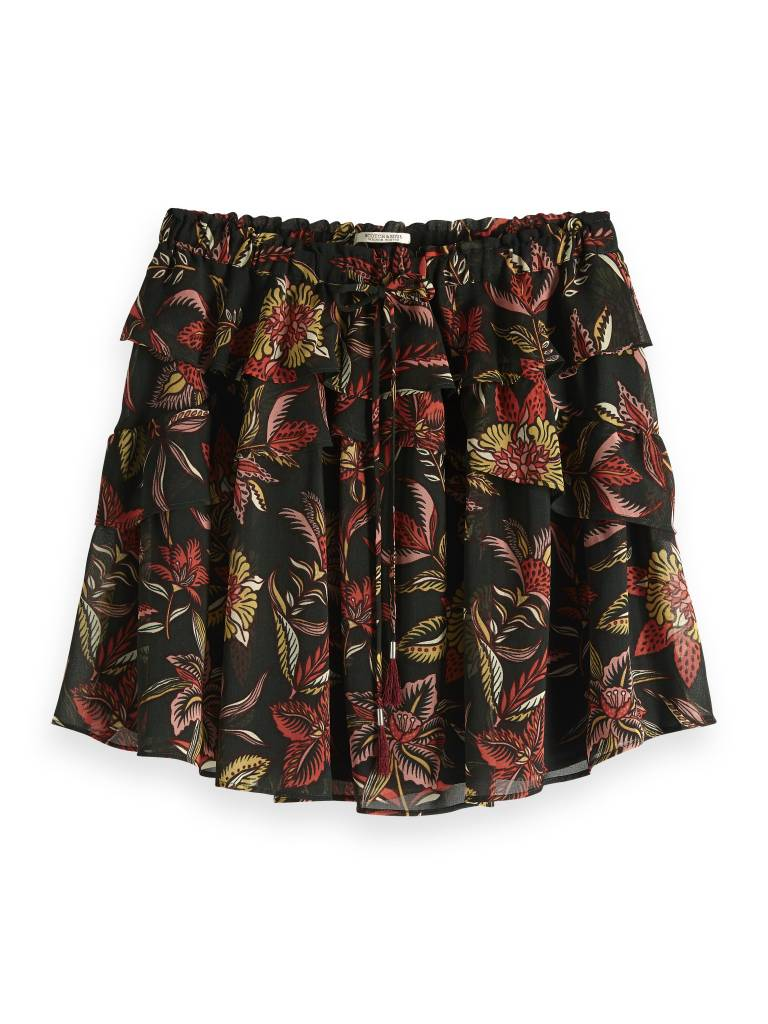 Print dames rok Maison Scotch - 149921 - 0587