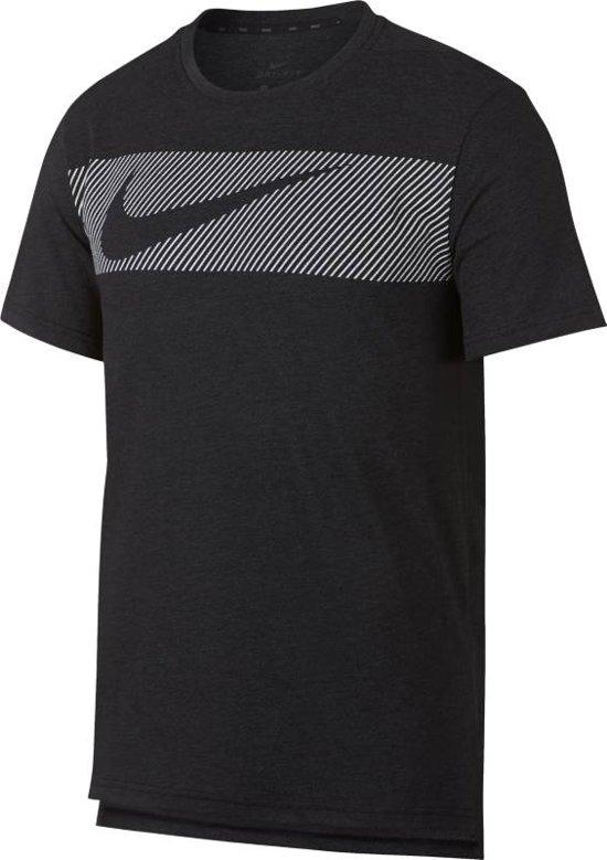 Zwart heren shirt Nike - AJ8004 - 032