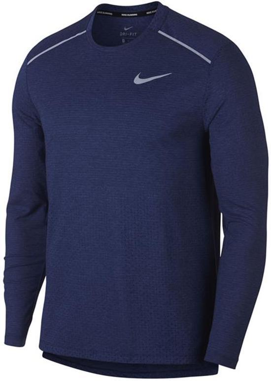 Blauw heren shirt Nike - AQ9923 - 492