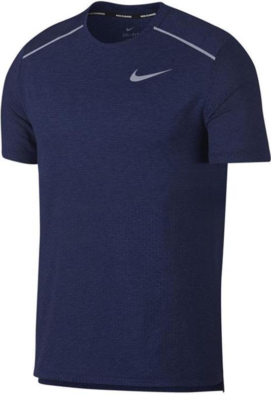 Blauw heren shirt Nike - AQ9919 - 492