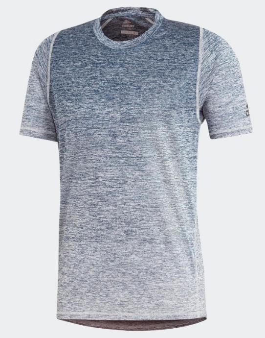 Blauw Wit heren shirt Adidas - DX4293 - LEGMAR