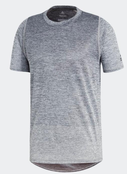 Grijs heren shirt Adidas - DU1184 - GRESIX/RAWWHT