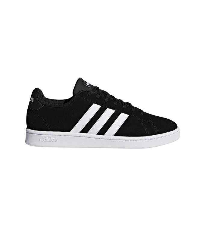 Zwarte Herenschoenen Adidas Grand Court - F36414