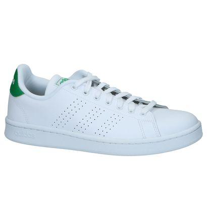 Witte Herenschoenen Adidas Advantage - F36424
