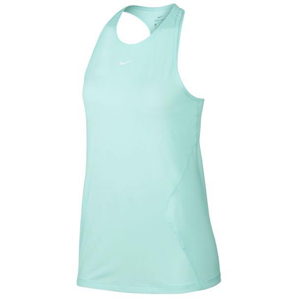 Lichtblauw Dames Tanktop Nike Pro Mesh - AO9966 336