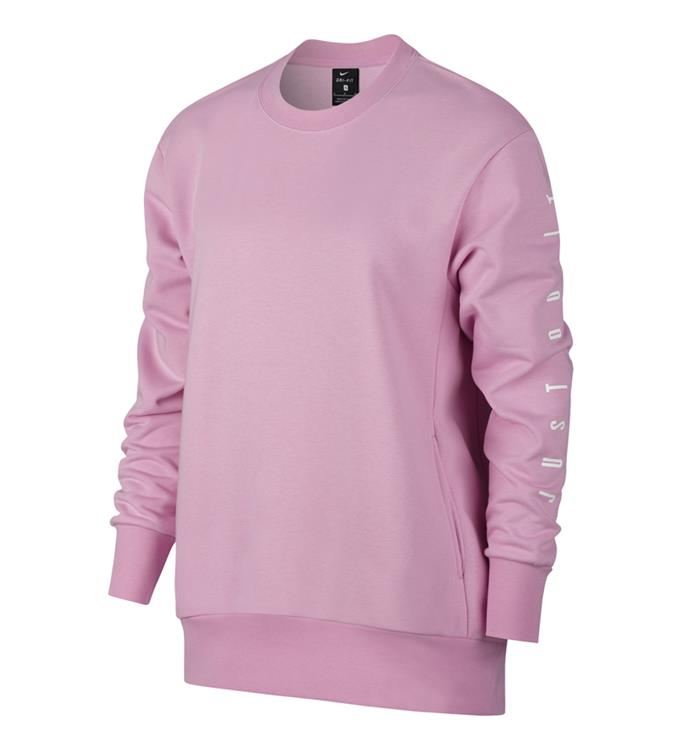 Roze Dames Trui Nike Dry Top LS Crew GRX - AT0599 668