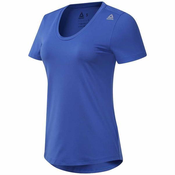 Blauw Dames T-shirt Reebok - DU4761
