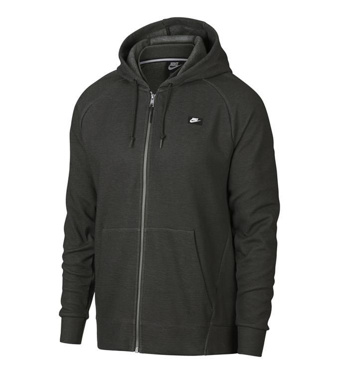 Donkergroen Heren Vest Nike Optic Hoodie - 928475 355