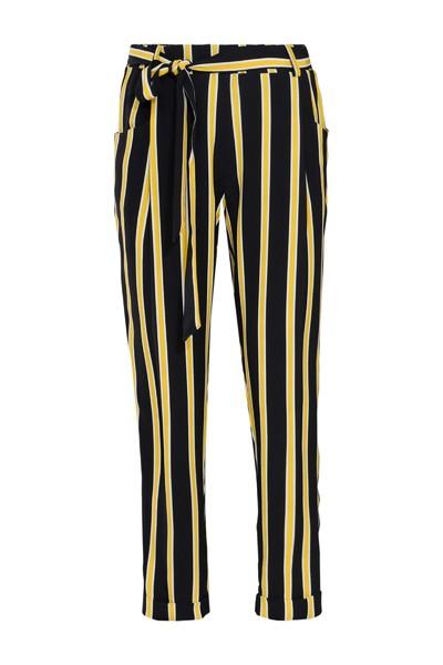 Zwart Gele Dames Broek Summum - 4s1703 10783