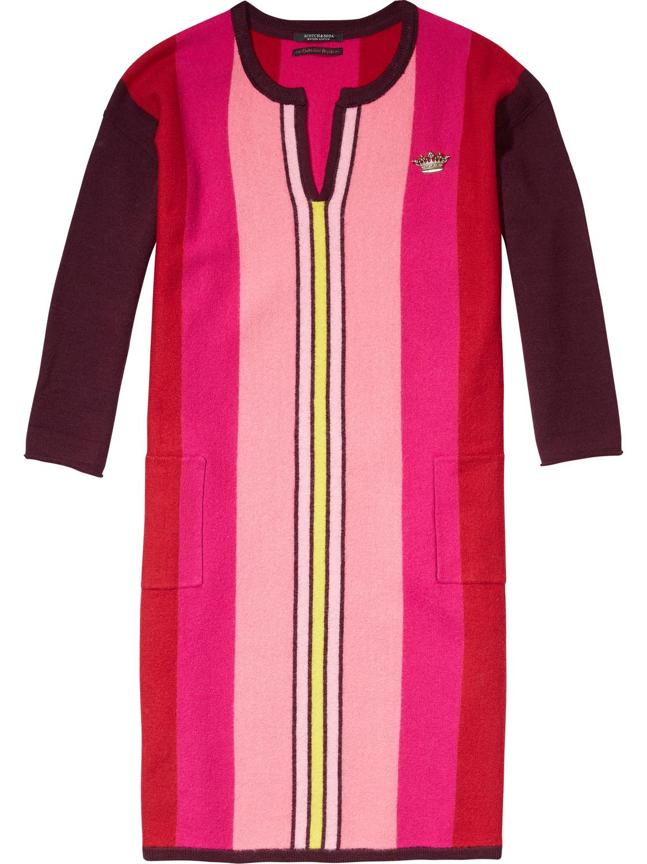 Gekleurde dames jurk Maison Scotch - 135166