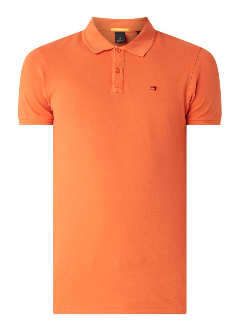 Oranje Heren Polo Scotch & Soda - 149084 2785