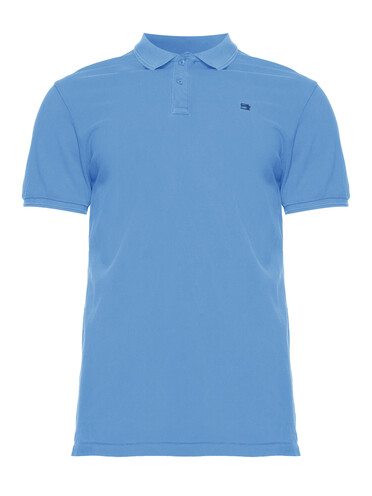 Blauwe Heren Polo Scotch & Soda - 149084 0661