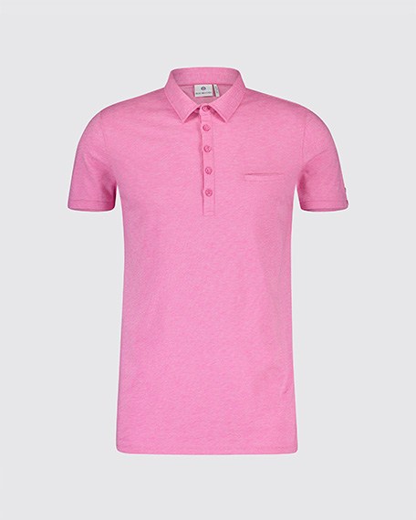 Roze heren polo Blue industry - KBIS19-M29