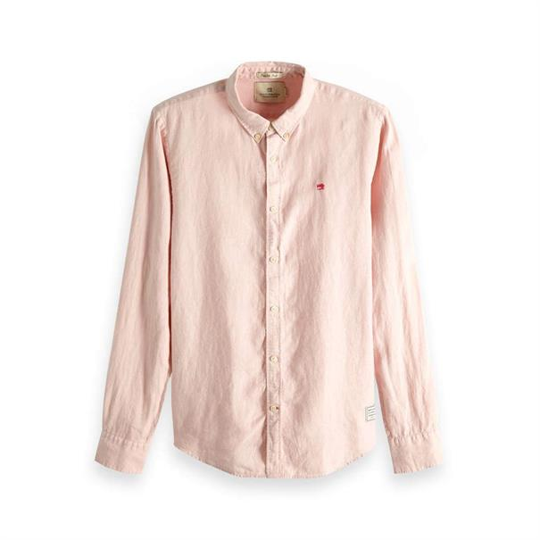 Roze Heren Overhemd Scotch & Soda - 148849 4500