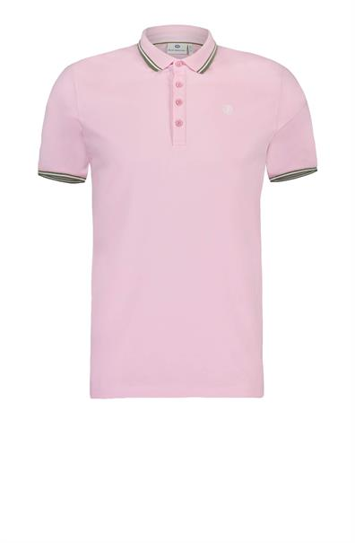 Roze Heren Polo Blue Industry - Kbis19-m21