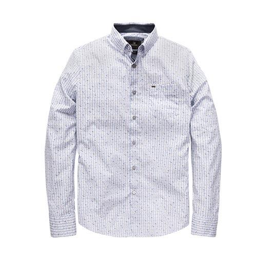 Witte Heren Blouse Met Print Vanguard - VSI191400 7003