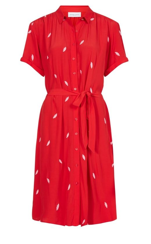 Rode dames jurk Fabienne Chapot - Boyfriend dress