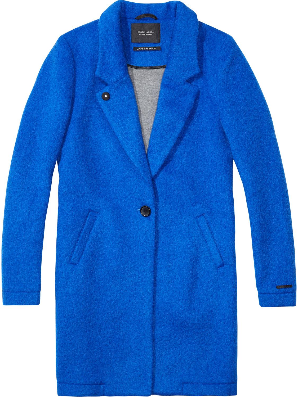 Blauwe dames jas Maison Scotch - 101920