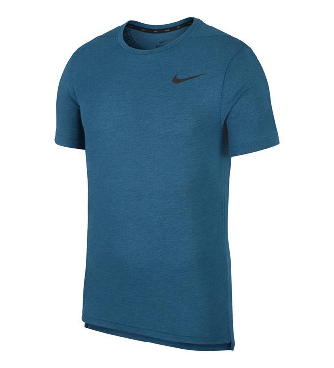 Groen blauw heren T-shirt Nike - AJ8002 301