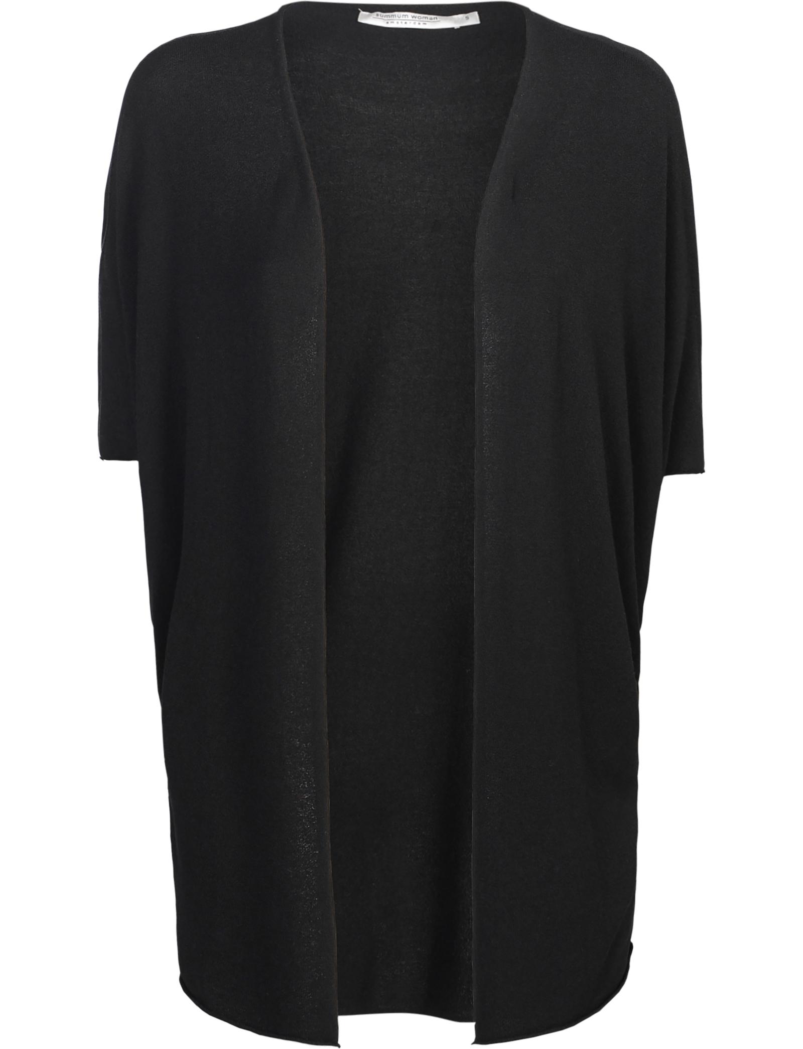 Zwart dames vest Summum - 7s5435-7725