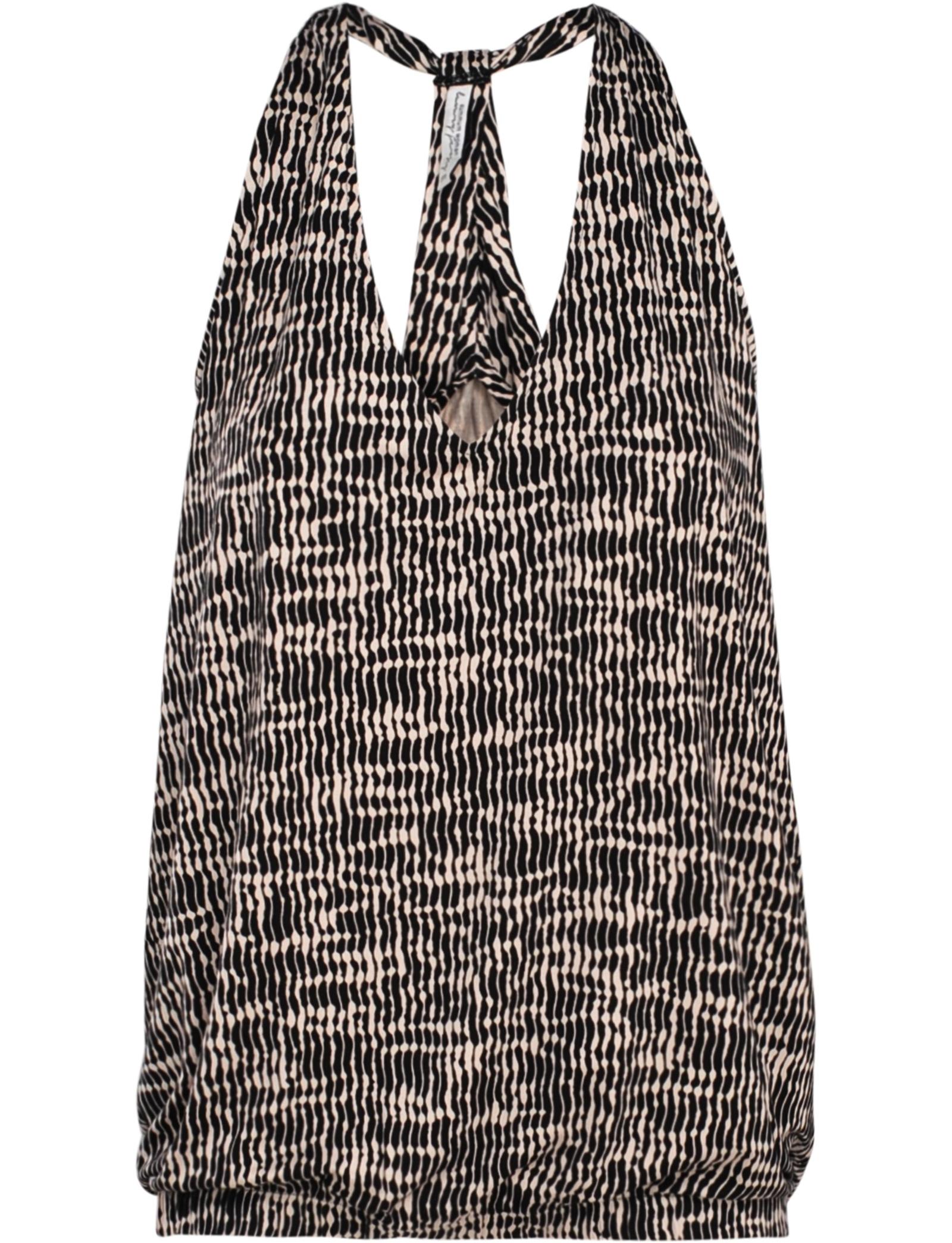 Zwarte dames top met print Summum - 3s4289-30061