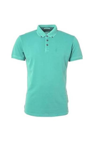 Groene heren polo No Excess - 90370201 125