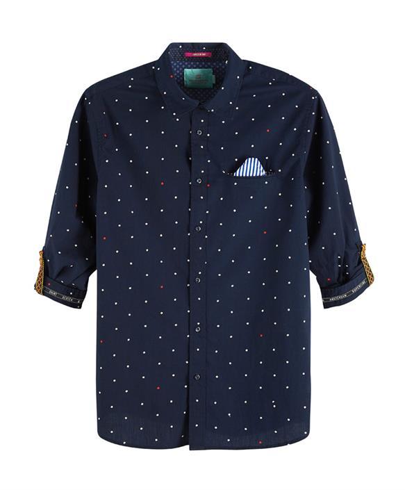 Donkerblauwe heren blouse Scotch & Soda - 148842