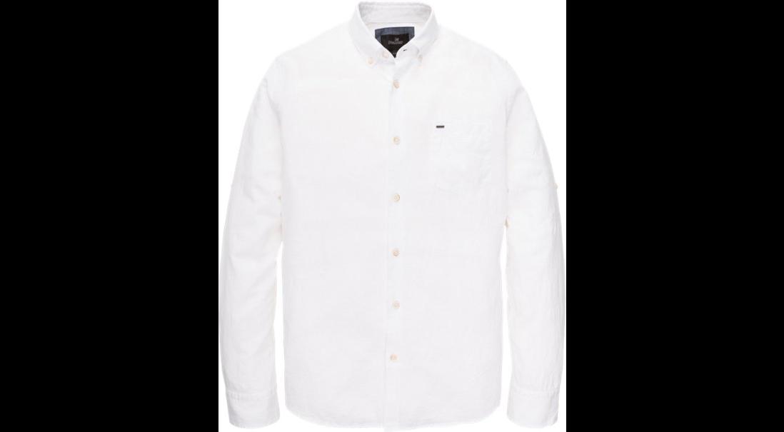 Wit linnen heren overhemd Vanguard - VSI193420 7003