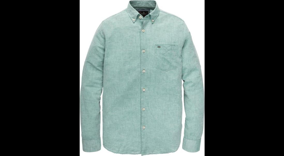 Groen linnen heren overhemd Vanguard - VSI193420 5218