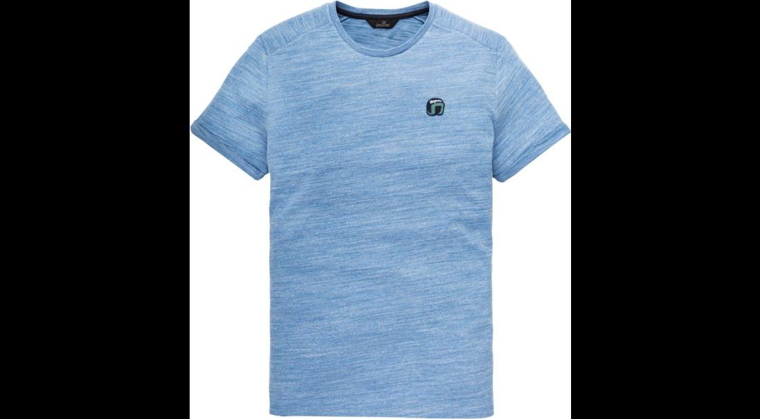 Blauw heren t-shirt Vanguard - VTSS193682 5068